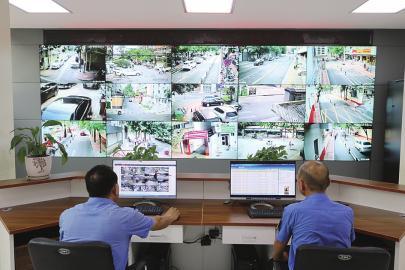 市中区杆石桥街道城管智慧化升级