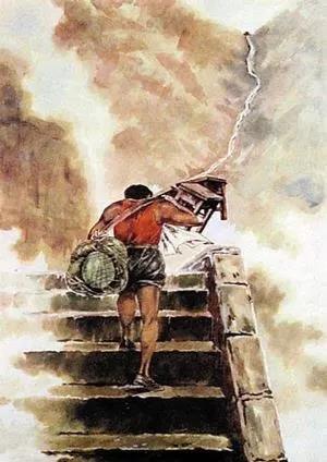 """弘扬新时代""""挑山工""""精神,勇当新征程锐意进取的攀登者"""