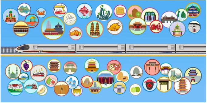 好多多多线路图!40条铁路贯穿你家乡的美景美食