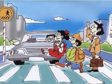 """""""车让行人""""遇尴尬拷问路权生态"""