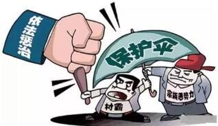 """每一起""""扫黑除恶""""案件都应以打掉保护伞为终点"""