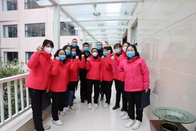 全国退役军人事务系统首支医疗队支援湖北省荣军医院速记