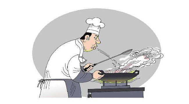 """""""吐口水""""的厨师应纳入""""黑名单"""""""
